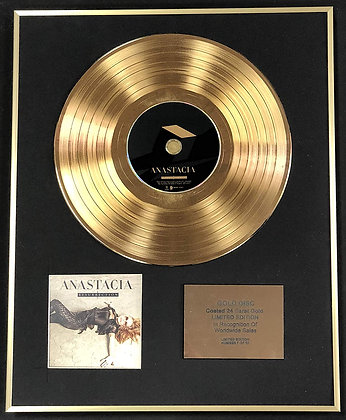 Anastacia - Exclusive Limited Edition 24 Carat Gold Disc - Resurretion