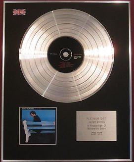 BOZ SCAGGS - CD Platinum Disc - SILK DEGREES
