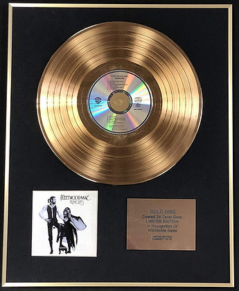 Fleetwood Mac - Exclusive Limited Edition 24 Carat Gold Disc - Rumours