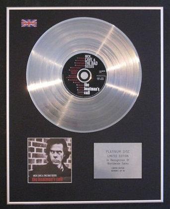 NICK CAVE - Platinum Disc - THE BOATMAN'S CALL