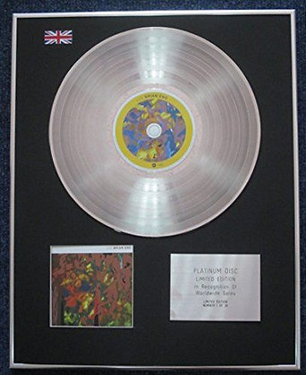 Brian Eno - Limited Edition CD Platinum LP Disc - Lux