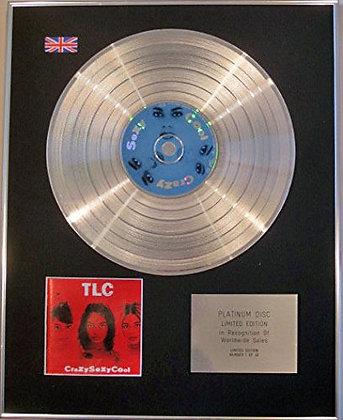 TLC - CD Platinum Disc - CrazySexyCool