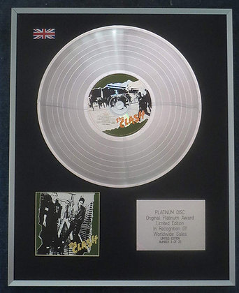 The Clash - Limited Edition CD Platinum LP Disc - 'The Clash'