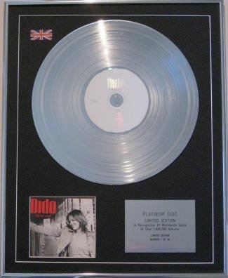 DIDO - CD Platinum Disc - LIFE FOR RENT