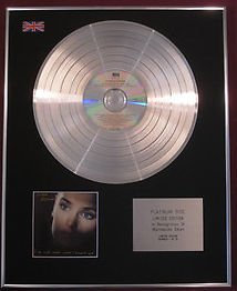 SINEAD O'CONNOR - CD Platinum Disc - I DO NOT WANT WHAT I HAVEN'T GOT