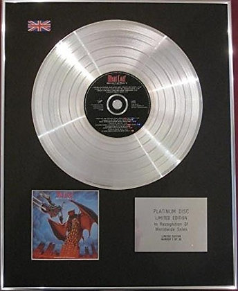 MEAT LOAF - CD Platinum Disc - BAT OUT OF HELL II