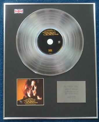 Thomas Crown Affair - Limited Edition CD Platinum LP Disc - Original Soundtrack