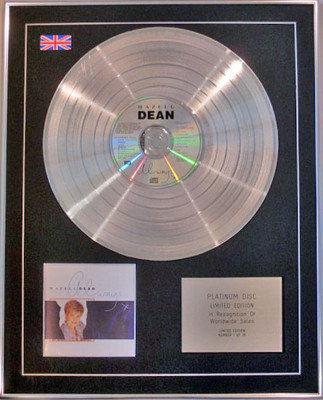 HAZELL DEAN - Limited Edition CD Platinum Disc - ALWAYS