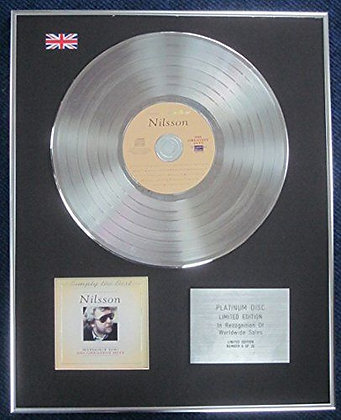 Nilsson - Limited Edition CD Platinum LP Disc - Simply the Best