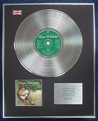 Roger Whittaker- LTD Edition CD Platinum LP Disc - A Perfect Day