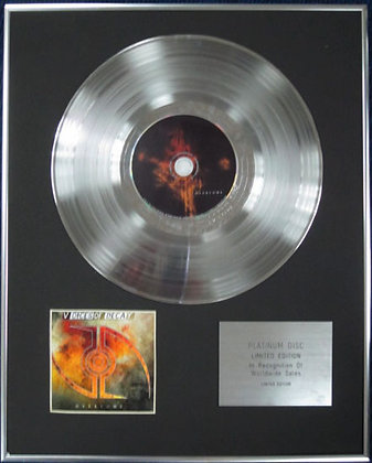 VOICES OF DECAY - Limited Edition CD Platinum Disc - OVERCOME