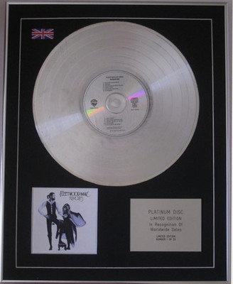 FLEETWOOD MAC  - CD Platinum Disc -  RUMOURS