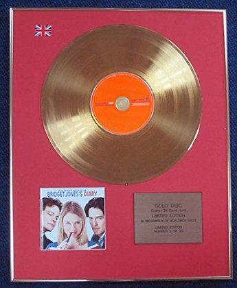 Bridget Jones's Diary - LTD Edition CD 24 Carat Gold Coated LP Disc - Soundtrack