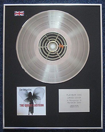 The Delgados - Limited Edition CD Platinum LP Disc - The Great Eastern
