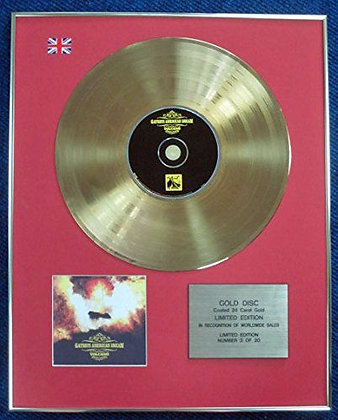Gatsby's American Dream - LTD Edition CD 24 Carat Gold Coated LP Disc - Volcano