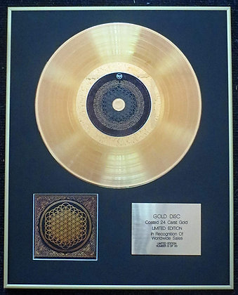 Bring Me the Horizon - Exclusive Limited Edition 24 Carat Gold Disc - Sempiterna
