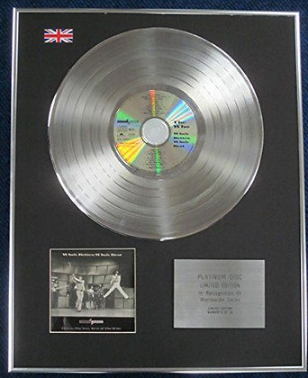 The Who- Limited Edition CD Platinum LP Disc - Who's Better, Who's Best