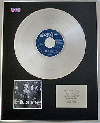 HOTHOUSE FLOWERS - CD Platinum Disc - HOME