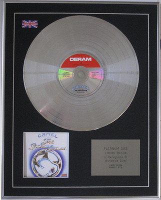 CAMEL -  CD Platinum Disc - THE SNOW GOOSE