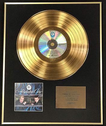 ABC - Exclusive Limited Edition 24 Carat Gold Disc - Alphabet City