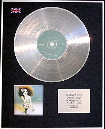 GLORIA ESTEFAN - CD Platinum Disc- GLORIA