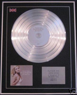 KATHERINE JENKINS - Ltd CD Platinum Disc - SACRED ARIAS