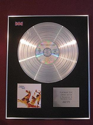 AZTEC CAMERA -  Platinum Disc -  LOVE