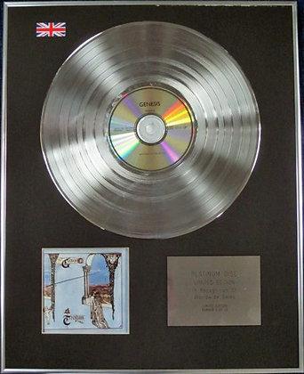 GENESIS - Limited Edition CD Platinum Disc - TRESPASS