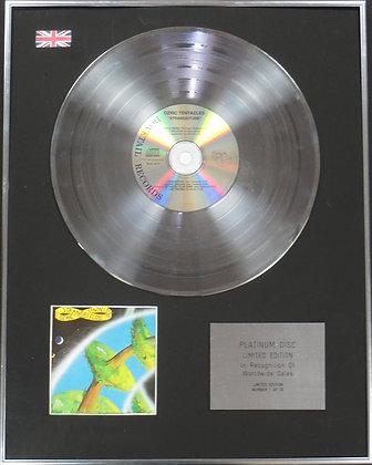 OZRIC TENTACLES - Limited Edition CD Platinum Disc - STRANGEITUDE