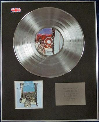 GENESIS - Limited Edition CD Platinum Disc - FOXTROT