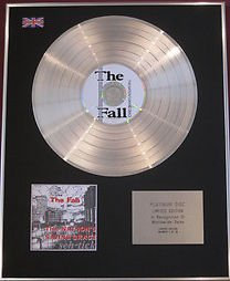 THE FALL - Limited Edition CD Platinum Disc -THIS NATION'S SAVING GRACE