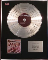 SMOKEY ROBINSON & THE MIRACLES - CD Platinum Disc - THE TRACKS OF MY TEARS