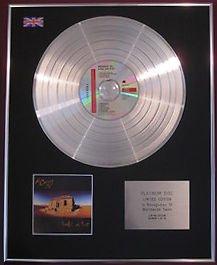 MIDNIGHT OIL - CD Platinum Disc - DIESEL AND DUST