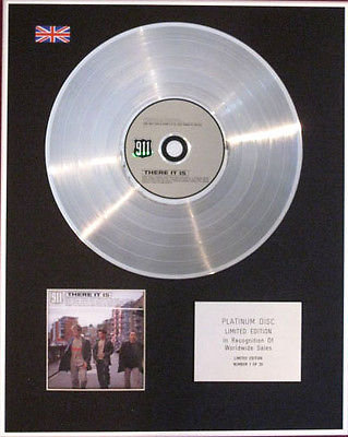911 - CD Platinum Disc - THERE IT IS