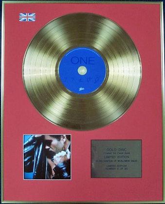GEORGE MICHAEL - Ltd Edition CD 24 Carat Coated Gold Disc - FAITH