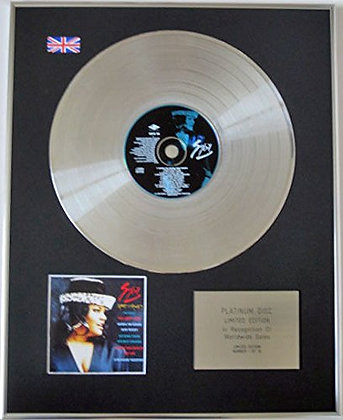 SYBIL - Limited Edition CD Platinum Disc - GOOD AND READY