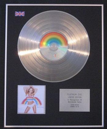 MARIAH CAREY - CD Platinum Disc - RAINBOW