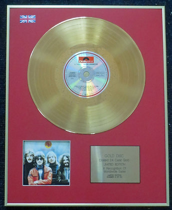Barclay James Harvest - 24 Carat Gold Coated LP Disc - Everyone Is…