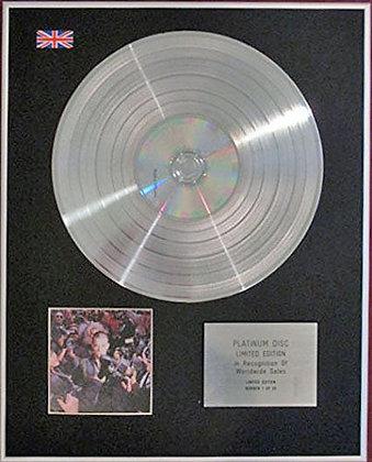 ROBBIE WILLIAMS - CD Platinum Disc - LIFE THRU A LENS
