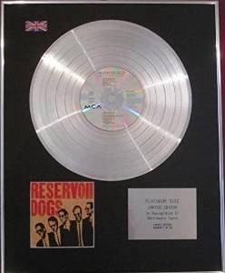 RESERVOIR DOGS - CD Platinum Disc  - SOUNDTRACK