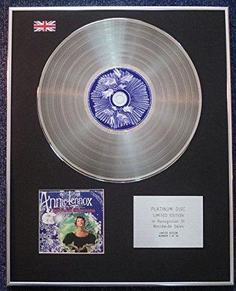 Annie Lennox - Limited Edition CD Platinum LP Disc - A Christmas Cornucopia