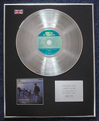 Gerry and the Pacemakers - CD Platinum LP Disc - Ferry cross the Mersey