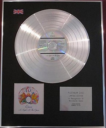 QUEEN - CD Platinum Disc-A NIGHT AT THE OPERA