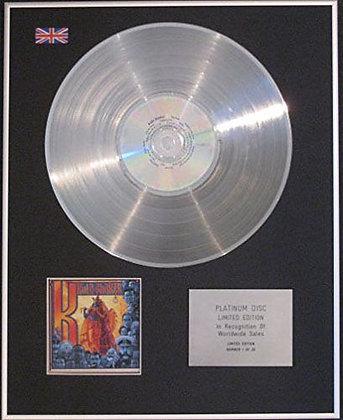 KULA SHAKER - CD Platinum Disc- K