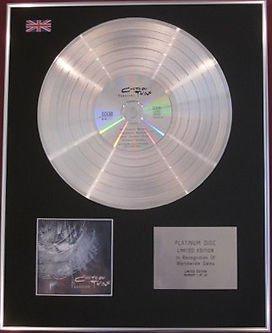 COCTEAU TWINS -  CD Platinum Disc - TREASURE
