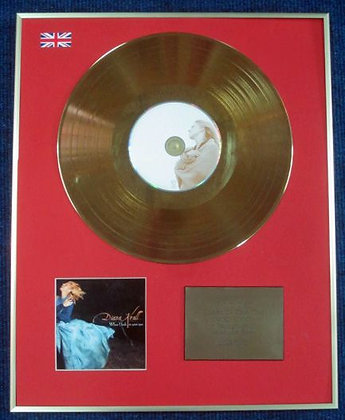 DIANA KRALL - CD 24 Carat Gold Coated LP Disc - WHEN I LOOK IN YOUR EYES