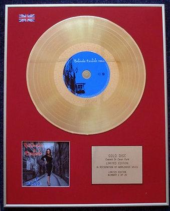BELINDA CARLISLE - Limited Edition CD 24 Carat Gold Coated LP Disc - VOILA