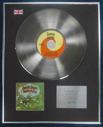 Beach Boys - Limited Edition CD Platinum LP Disc - Smiley Smile