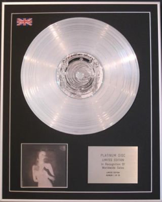 THE BIG PINK -CD Platinum Disc- A BRIEF HISTORY OF LOVE