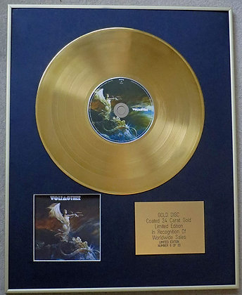 WOLFMOTHER - Exclusive Limited Edition 24 Carat Gold Disc -'WOLFMOTHER'